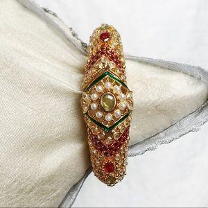Jewelry - Gold Embellished Bangle